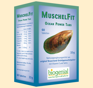 MuscheFit Ocean Power Tabs